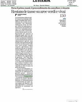 Tasse aree verdi e vivai: intervento di Francesco Mati su La Stampa