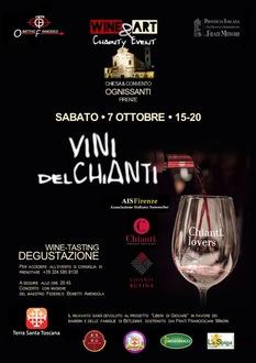 Wine&Art, degustazioni di vini e una mostra per una buona causa
