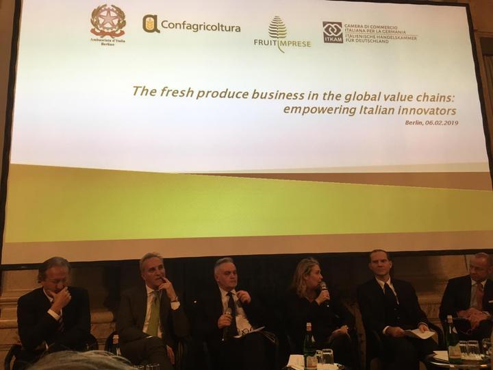"""Fruit Logistica, Giansanti (Confagricoltura): """"Innovazione e competitività del sistema ortofrutticolo italiano passano attraverso la modernizzazione logistica e infrastrutturale"""""""