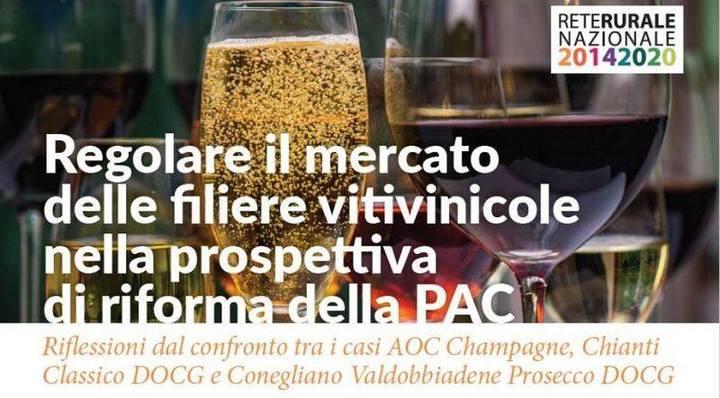 """""""Regolare il mercato delle filiere vitivinicole nella prospettiva di riforma della Pac"""": intervento di Luca Giannozzi al convegno nella sede dell'Accademia dei Georgofili"""