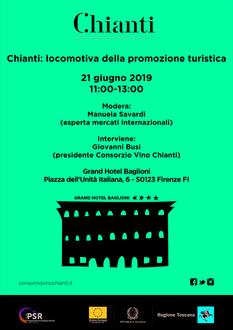 """Consorzio Vino Chianti """"Chianti: locomotiva della promozione turistica"""""""