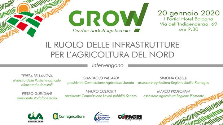 """""""Grow!"""" Il 20 gennaio a Bologna nuovo incontro dell'action tank di Agrinsieme con il ministro Bellanova"""