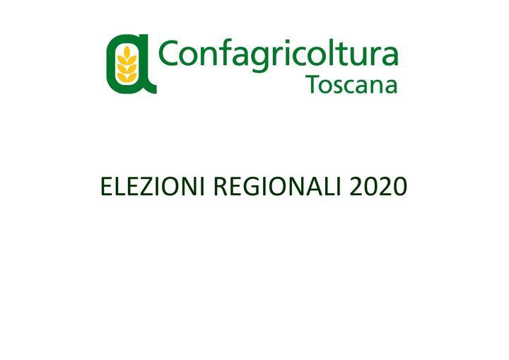 """Elezioni, Confagricoltura Toscana al futuro presidente della Regione: """"Valorizzi l'impresa agricola che garantisce occupazione"""""""