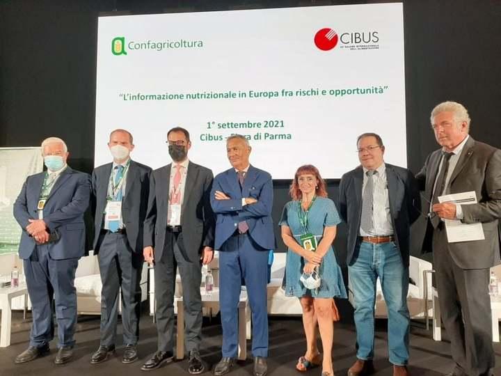 Etichetta cibi, Giansanti a Cibus: Insieme contro il Nutriscore, a difesa dell'agricoltura