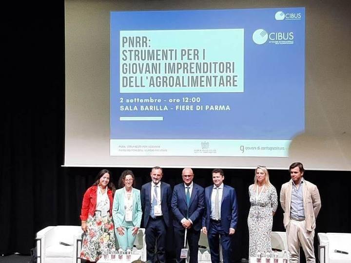 A Cibus focus dei Giovani di Confagricoltura e Federalimentare su PNRR e sostenibilità.2,8 miliardi stanziati per l'agricoltura sostenibile e l'economia circolare