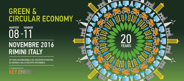 """Ambiente ed energia: a """"Ecomondo-Key Energy"""", alla Fiera di Rimini, Confagricoltura rilancia l'economia circolare"""