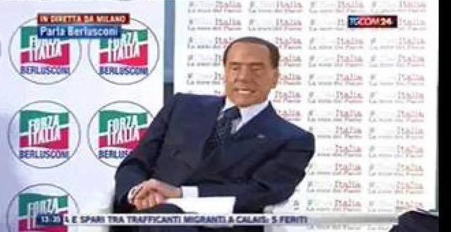 Sky tg24 - 26/11/2017 - #IdeeItalia: Berlusconi ha voluto incontrare i presidenti di Confagricoltura, Confindustria, Confcommercio