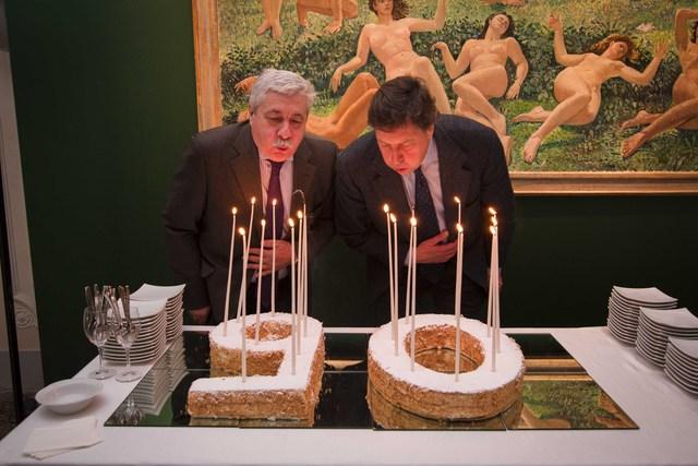 I volti e l'orgoglio dei vignaioli toscani in mostra a Villa Bardini per celebrare i 90 anni del Consorzio Vino Chianti