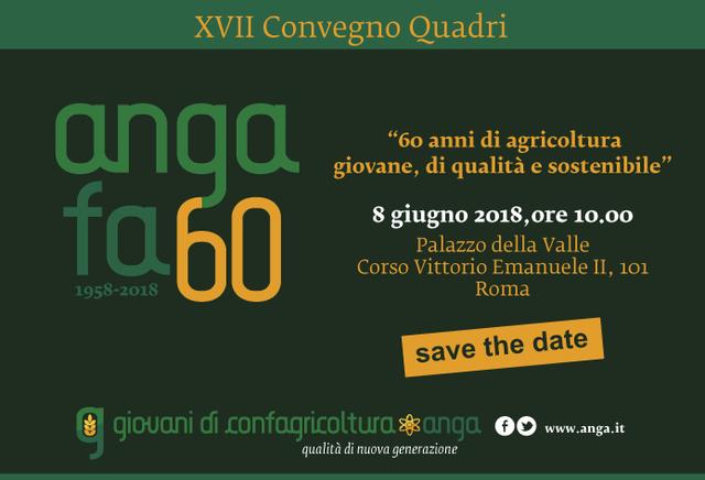 60 anni di agricoltura giovane, di qualità e sostenibile!