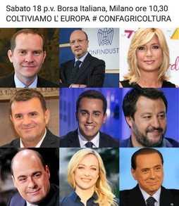 SaveTheDate - Assemblea Confagricoltura il 18 maggio a Milano