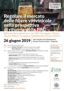 """""""Regolare il mercato delle filiere vitivinicole nella prospettiva di riforma della Pac"""""""