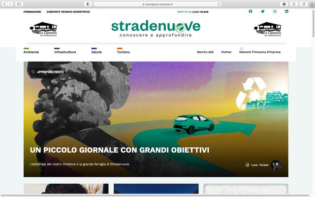 """Editoria, nasce """"Stradenuove"""": il giornale on line diretto da Luca Telese"""